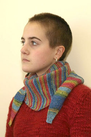 Plymouth Stiletto Side To Side Garter Stitch Scarf Kit - Scarf and Shawls