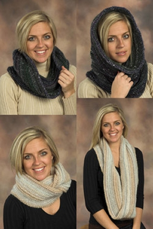 Plymouth Mushishi Long and Short Cowl Kit - Scarf and Shawls