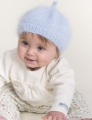 Plymouth Angora Baby Beret Kit