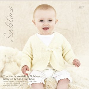 Sublime Books - 677 - The Fourth Irresistibly Sublime Baby 4ply Hand Knit Book