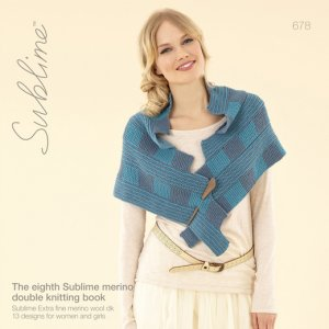 Sublime Books - 678 - The Eighth Sublime Merino Double Knitting Book