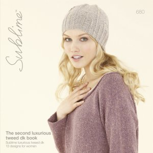 Sublime Books - 680 - The Second Luxurious Tweed DK Book