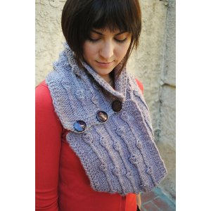 Grace Akhrem Patterns - Sprouting Leaves Cowl Pattern