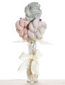 Jimmy Beans Wool Yarn Bouquets - Koigu Simple Bouquet - Confetti Cake (Pastels)
