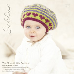 Sublime Books - 676 - The Fifteenth Little Sublime Hand Knit Book