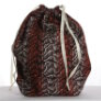 Jimmy Beans Wool Hand Made Project Bag - River - Velvet