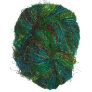 Darn Good Yarn Indian Recycled Sari Silk Yarn - Green