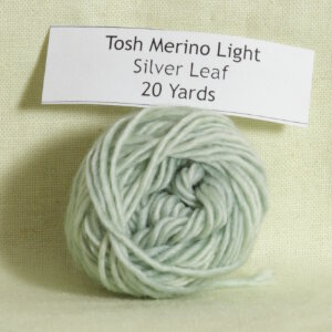 Madelinetosh Tosh Merino Light Samples Yarn - Silver Leaf (Discontinued)