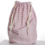 Jimmy Beans Wool Hand Made Project Bag - Caravan - Pink
