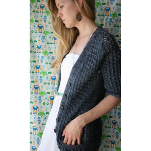 The Yarniad Patterns - Pontos Cardigan Pattern