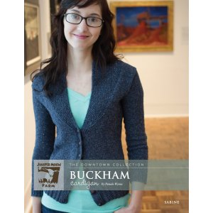 Juniper Moon Farm The Downtown Collection Patterns - Buckham Cardigan Pattern