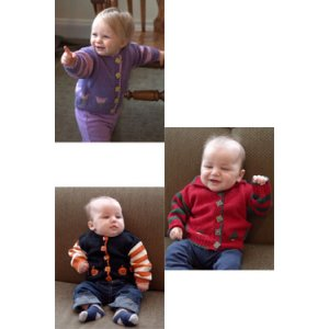 Plymouth Patterns - Baby & Children Patterns - 2861 Seasonal Baby Cardigans