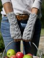 Swans Island Patterns - Celtic Mitts