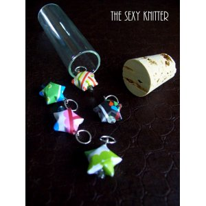 The Sexy Knitter - Origami Stitch Markers