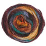 Noro Silk Garden Sock - 421 Desert Oranges, Green
