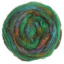 Noro Silk Garden Sock Yarn - 426 Greens, Coral, Ink