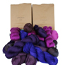 Jimmy Beans Wool Fingering Mystery Yarn Grab Bags Yarn - Purples