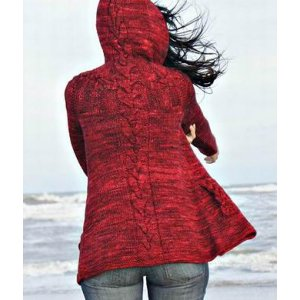 Joji Locatelli Joji Knits Patterns - Jenica Hoodie Pattern