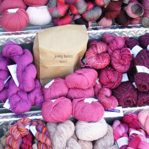 Jimmy Beans Wool Worsted Mystery Yarn Grab Bags Yarn - Pinks