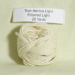 Madelinetosh Tosh Merino Light Samples Yarn - Filtered Light (Discontinued)