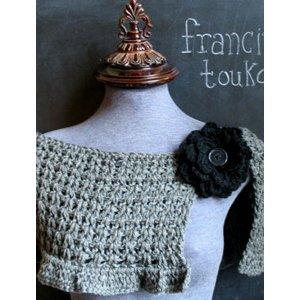 Francine Toukou Patterns - The Fireside Capelet Pattern