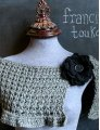 Francine Toukou Francine Toukou Patterns - The Fireside Capelet