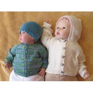 Knitting Pure and Simple Baby & Children Patterns - 1506 - Baby Cardigan Pattern