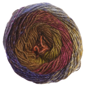 Noro Silk Garden Yarn - 423 Browns, Magenta, Purple