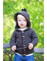 Tot Toppers Tot Toppers Patterns - Sugar Bear Hooded Cardi