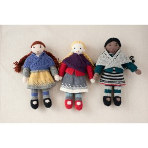 Knitted Doll Books - Mary, Millie, & Morgan