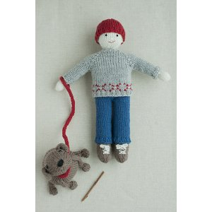 Knitted Doll Books - Ben & Buddy