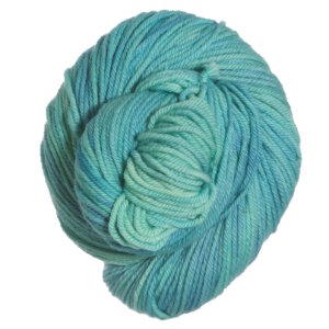 Mrs. Crosby Steamer Trunk Yarn - Spangled Cotinga