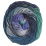 Noro Kureyon Yarn - 359 Blues, Lilac, Yellow