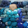 Jimmy Beans Wool Bulky Mystery Yarn Grab Bags Yarn - Blues