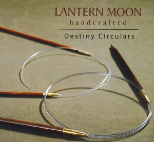 "Lantern Moon Ebony Circulars Needles - US 6 26"" Needles"