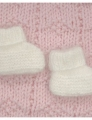 Plymouth Yarns Angora Baby Booties Kit