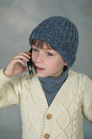Plymouth Encore Worsted Ribbed Hat Kit - Hats and Gloves