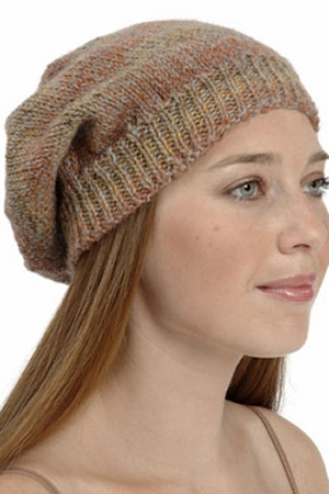 Plymouth Encore Worsted Slouchy Hat Kit - Hats and Gloves