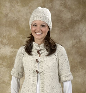 Plymouth Yarns Baby Alpaca Grande Easy Hat Kit - Hats and Gloves