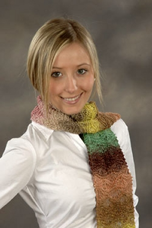 Plymouth Yarns Kudo Waves Scarf Kit - Scarf and Shawls
