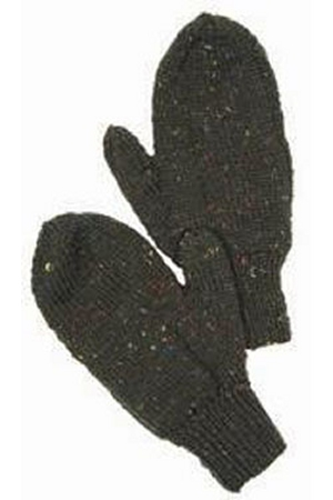 Plymouth Yarns Galway Worsted Men's Mittens Kit - Hats and Gloves