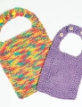 Plymouth Yarns Fantasy Naturale Baby Bibs