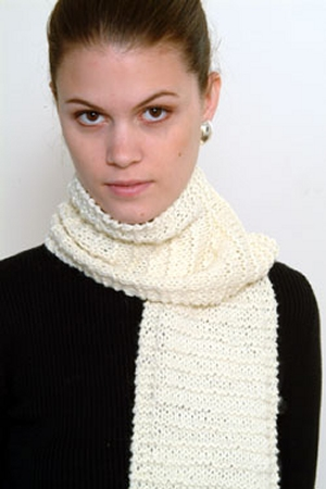 Plymouth Yarns Encore Worsted Beginners Scarf Kit - Scarf and Shawls