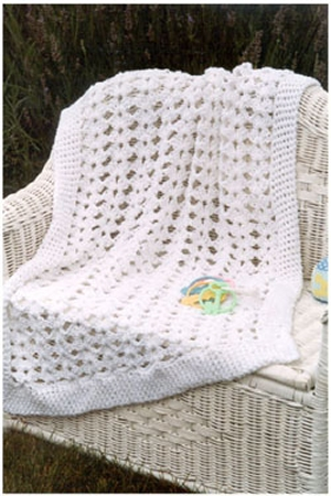 Plymouth Yarns Fantasy Naturale Baby Afghan Kit - Crochet for Kids