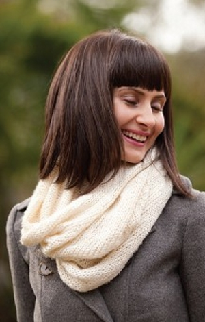 Be Sweet Extra Fine Mohair/ Bamboo Snowmass Snood Kit - Scarf and Shawls