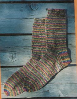 Knitting Pure and Simple #216 Beginner's Lightweight Socks Kit - Socks