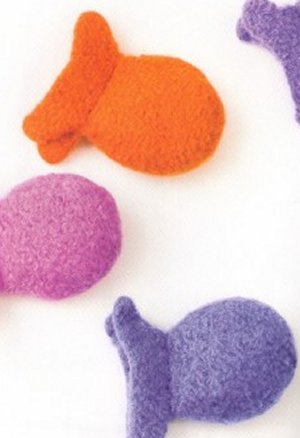 Nashua Creative Focus Worsted Felted Catnip Toys Kit - Pets