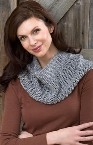 Red Heart Soft Solid Charming Cowl Kit - Women's Accessories