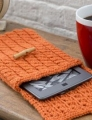 Red Heart With Love Cabled e-Reader Cozy Kit
