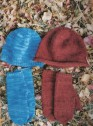 Knitting Pure and Simple #223 Basic Hat & Mitten Set Kit